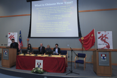 Chinese New Year celebrated by staff and students