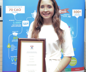 A whirlwind year for entrepreneur and President's Scholarship student