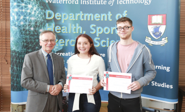 50+ Sport & Exercise Science students recognised in 2017 Honours List
