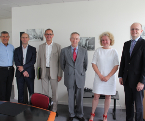 International co-operation at core of School of Business France visit