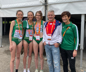 WIT lecturer manages Irish team to European Cross-Country Silver