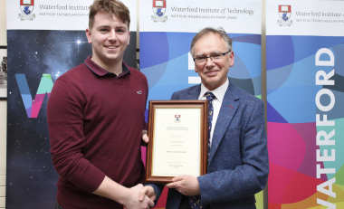 President's Scholarship student James' contributions to society noted