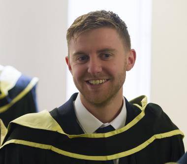 Masters in Business Management complimented previous studies, John