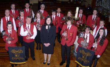 City of Waterford Brass perform Live RTE Broadcast