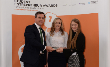 Students' innovation scoops Grant Thornton Emerging Business Award