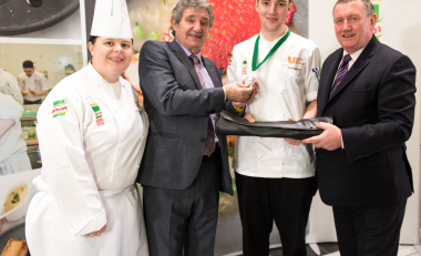 Silver prize awarded to WIT student chef at national cook-off