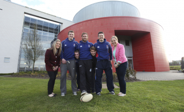 Ladies Rugby Legends Make Return Visit to their Alma Mater