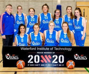 Big win for the WIT Vikings Ladies basketball team in UCC