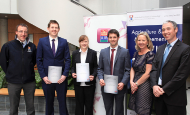 Cahir woman wins AIB / WIT Land Management (Agriculture) Award