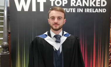 Luke Byrne studied retail management and really enjoyed it