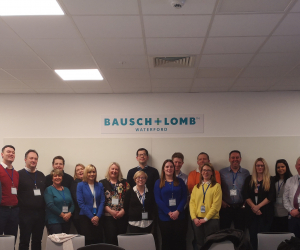 Executive MBA class visit Bausch+Lomb's world-class Waterford plant