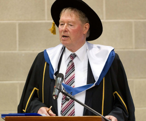Micheál Ó Muircheartaigh Conferred with Honorary Fellowship
