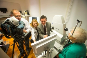 Nationwide filming at WIT's Macular Pigment Research Group
