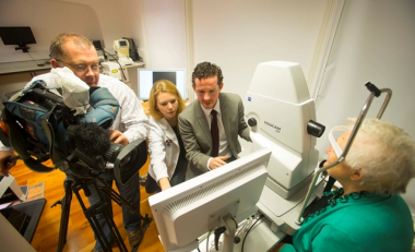 RTE's Nationwide to broadcast from the Macular Pigment Research Group