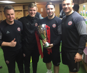 Michael experienced the real world of coaching on placement with Sheffield United