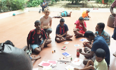 Dervla tells us of her experience volunteering with SERVE in Bangalore, India