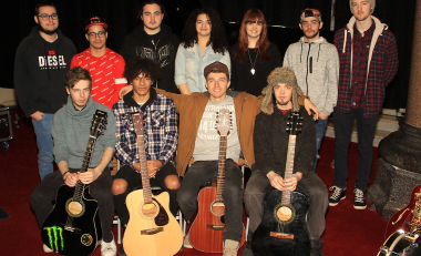 Music student experience hits the right note with visiting students