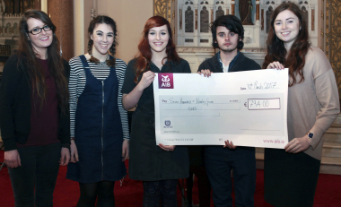 Concert held by Waterford music students raises €794 for Focus Ireland