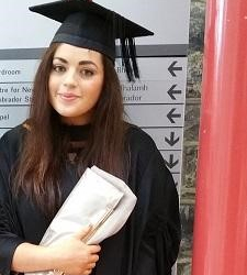 Law was the correct course for graduate Natalie