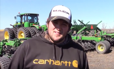 Video: 40,000 acre US tillage farm internship for former Ag student
