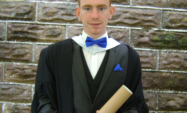Graduate says Architectural Technology was the right course for him