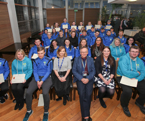 Value of student mentors to first years highlighted in P2P ceremony