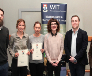 Winners announced of EirGen Pharma-sponsored student prizes