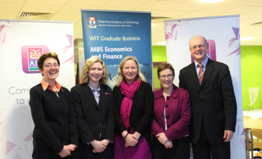 WIT Business School Announce New Awards Competition with AIB