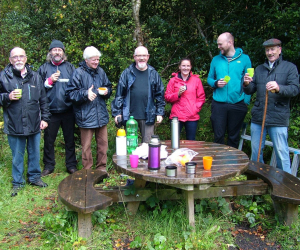 Community groups do pine marten conservation in partnership with WIT