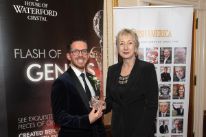 WIT professor honoured at Irish America awards in New York