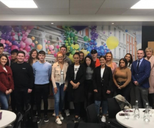 BSc in Retail Management students visit Brown Thomas and Penneys
