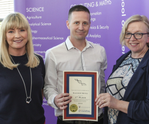Ruaidhri wins top prize for project on Breast cancer cells
