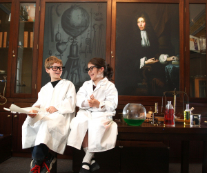 Costumed drama from CALMAST brings science to life