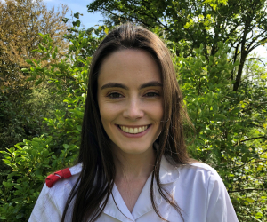 Final year nursing student praised for inspirational speech