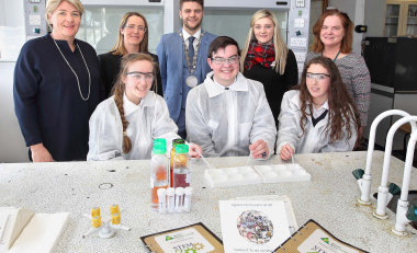 Junior Achievement Ireland's STEM Zoo takes place on WIT campus