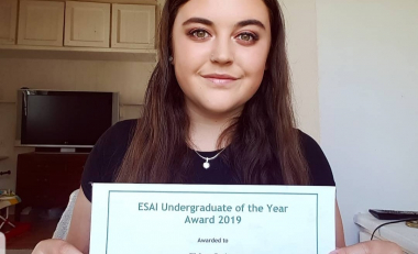 Environmental Science Association of Ireland Undergraduate of the Year Awards announced