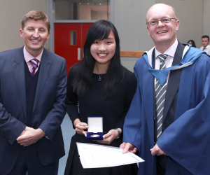International students receive awards for academic excellence