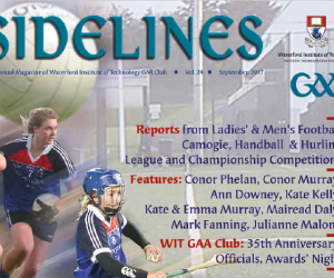 Magazine: Sidelines 2017 from WIT GAA