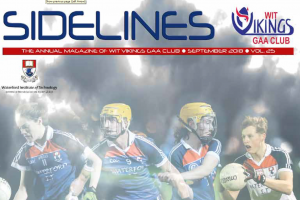 Sidelines magazine from WIT GAA celebrates 25 years in existence