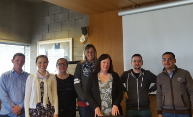 School of Business welcomes visiting lecturer from Germany