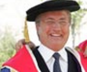 The Honourable Danny Williams conferred with Honorary Fellowship