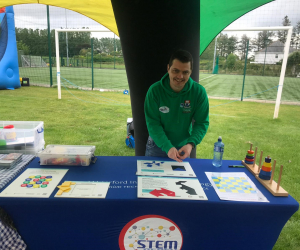 WIT's Calmast brings STEM fun to GSK Family Day