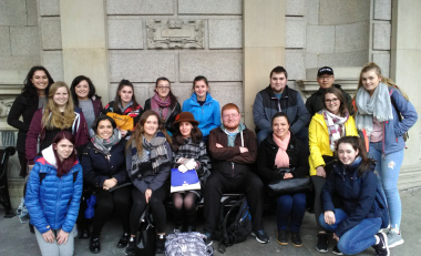 WIT tourism students visit the National Museum of Archaeology, Dublin