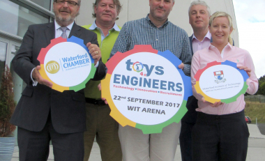 Siemens sponsors WIT and Waterford Chamber's 'Toys4.0Engineers'