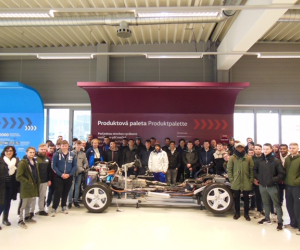 Mechanical and Manufacturing Engineering students' trip to Volkswagen Slovakia