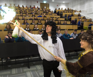 WIT's Calmast costumed Robert Boyle drama brings science to life