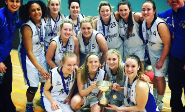 WIT Ladies Basketball become All Ireland Champions