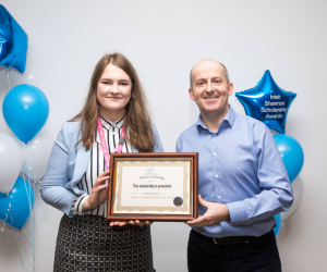 Applied Computing student awarded Women in Technology Scholarship from Intel Shannon