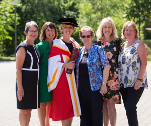 Vicky Phelan from WIT conferred with honorary doctorate by UL