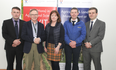 Dairymaster sponsors final year Ag Science awards